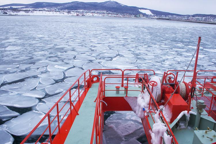 流冰破冰船「GARINKO號」